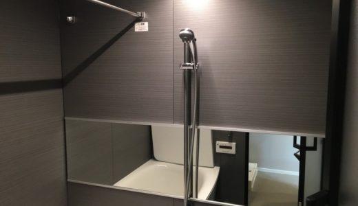 浴室(お風呂)掃除 東京都品川区中古分譲マンション入居前の再生クリーニング