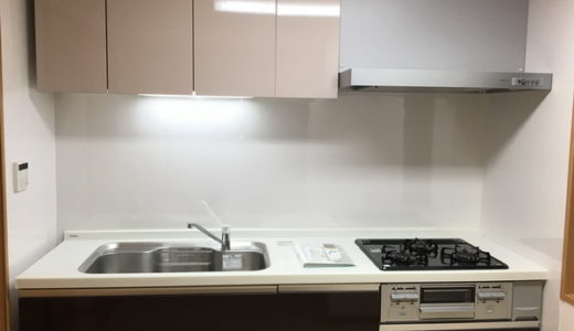 キッチンのお掃除 1DKマンション 東京都世田谷区 入居前の再生クリーニング
