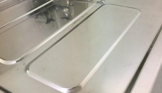 キッチン(台所)のステンレスシンク鏡面仕上げ 入居前の再生クリーニング 東京都大田区