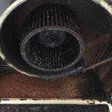 キッチンの換気扇掃除 2DK中古分譲マンション空室クリーニング 東京都大田区 入居前クリーニング