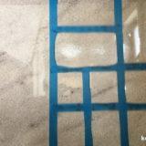 人工大理石研磨実験